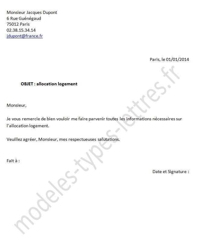 Caf Fr Demande D Allocation Logement